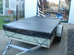 Black Trailer Cover - 990mm x 785mm x 100mm